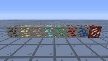 Better_Ores // 1.15 Minecraft Texture Pack