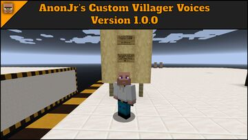 Custom Villager Sounds Minecraft Texture Pack