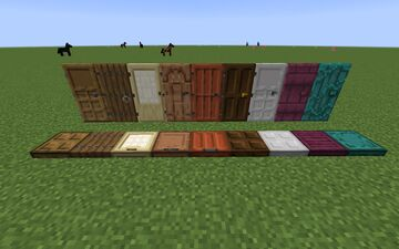 Solid Doors Minecraft Texture Pack