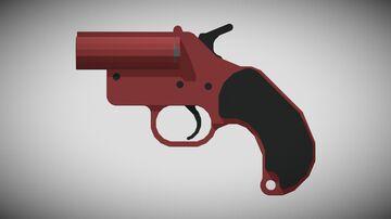 3D GUNS | Flare Gun! (1.12+) Minecraft Texture Pack