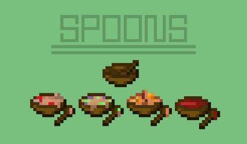 Steve Needs Spoons Minecraft Texture Pack