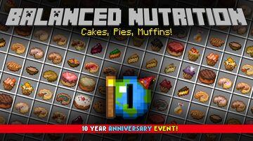 Balanced Nutrition Minecraft Texture Pack