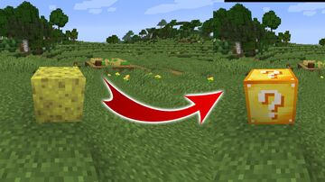 Sponge To Lucky Block TexturePack Minecraft Texture Pack