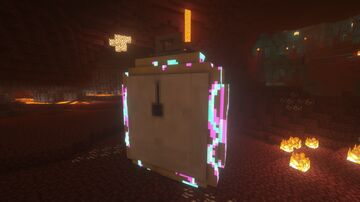 Clock Ghast Animated+sounds (Optifine) Minecraft Texture Pack