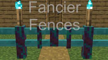 Fancier Fences Minecraft Texture Pack