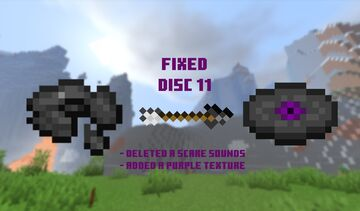 Better 11 music disc Minecraft Texture Pack
