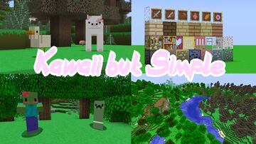 Kawaii But Simple [1.12.2] Minecraft Texture Pack