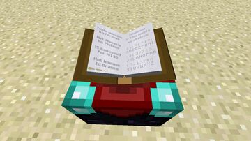 Manilla Enchanting Table Book HD Minecraft Texture Pack