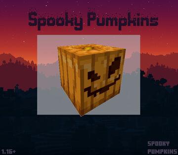 Spooky Pumpkins! Minecraft Texture Pack