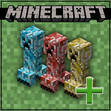 Colored Creepers (Optifine) Minecraft Texture Pack