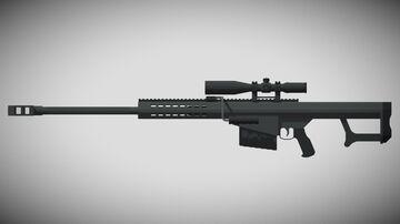 3D GUNS | M107! (1.12+) Minecraft Texture Pack