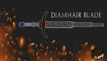DiamHair Blade 3D Model (1.14.4+): Resource Pack Minecraft Texture Pack