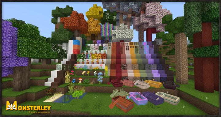 Monsterley Hd Add On Biomes O Plenty Minecraft Texture Pack