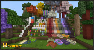 Monsterley HD Add-On: Biomes O' Plenty Minecraft Texture Pack