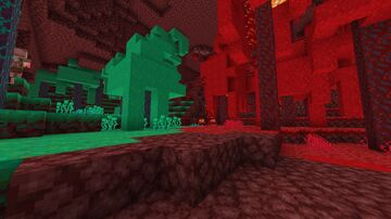 Christmas Nether 1.16.4 Minecraft Texture Pack