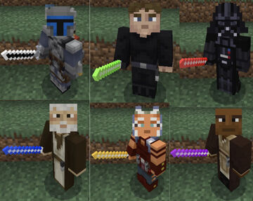 Star Wars Weapons Resource Pack (java) Minecraft Texture Pack