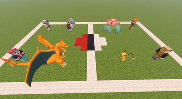 (Pixelmon) Players Vs. Rivals NPC Pack Minecraft Texture Pack