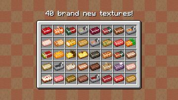 Foodstuff ingots 1.8 - 1.16+ Minecraft Texture Pack