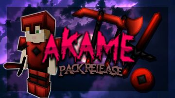 Akame [256x] PVP Pack (custom sky included) Minecraft Texture Pack