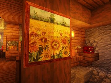 Better paintings for 1.16.3+ Minecraft Texture Pack
