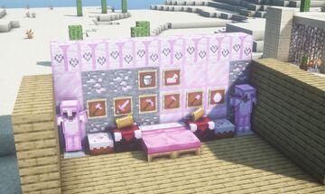 Pretty In Pink Minecraft Texture Pack