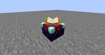 Crying Enchanting Table Minecraft Texture Pack
