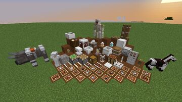 White Iron EVERYTHING Minecraft Texture Pack