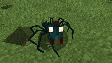 Blind Cave Spider&Snail Endermite (Optifine) Minecraft Texture Pack