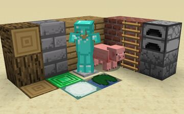 SMPL Pack 1.15.2 - Default textures with a cleaner look Minecraft Texture Pack