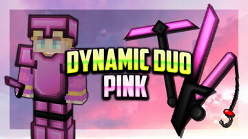 Dynamic Duo [128x] Pink PVP Pack Minecraft Texture Pack