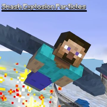 Smash Bros. Explosion Particles Minecraft Texture Pack