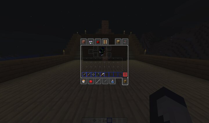 Nicer Inventory and some nice looking weapons and tools