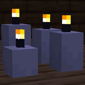 Sea Pickle Candles Minecraft Texture Pack