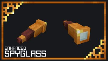 Enhanced Spyglass Minecraft Texture Pack