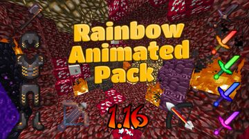 Rainbow Animated 1.16 Pack! Minecraft Texture Pack