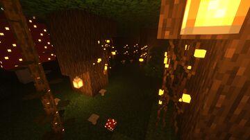Better dark forest 2 Minecraft Texture Pack