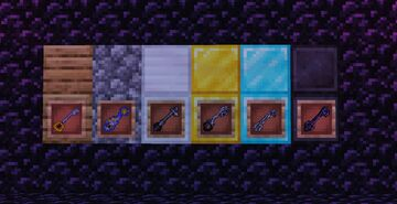 Kingdom hearts Keyblades texture pack Minecraft Texture Pack