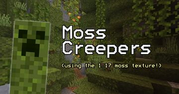 1.17 Moss Creepers Minecraft Texture Pack