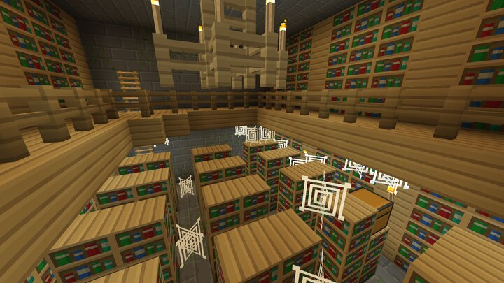 Inside a Stronghold Library