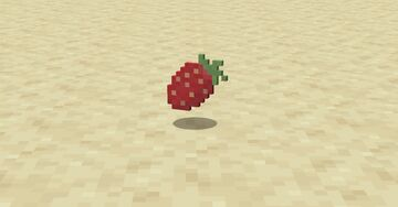 Sweet Berries to Strawberries Minecraft Texture Pack