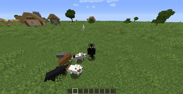 More Dog Colors And Breeds *WIP* Minecraft Texture Pack