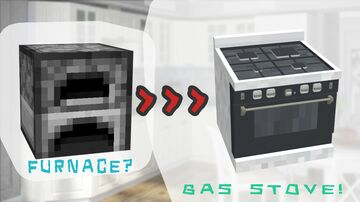 Gas stove! Minecraft Texture Pack