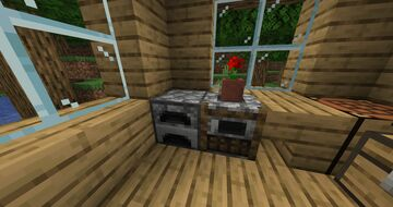 Cobblestone furnace and smoker Minecraft Texture Pack