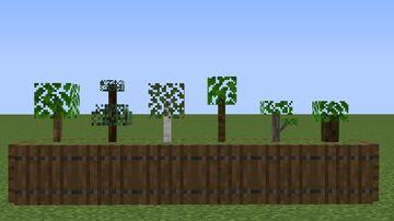 Better Saplings Minecraft Texture Pack