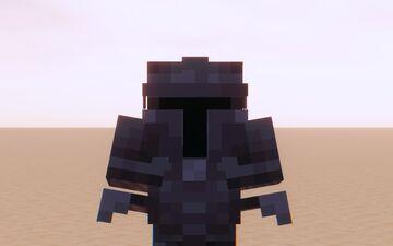 Mandalorian Netherite Armor Minecraft Texture Pack