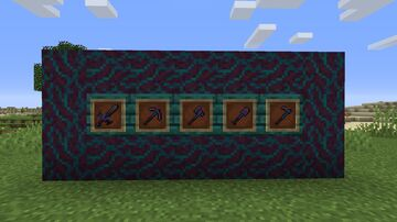 Geo's Custom Netherite tools (NOW WITH ARMOR TEXTURES) Minecraft Texture Pack