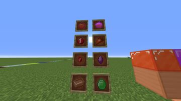Gems rubies amethysts emeralds and copper Minecraft Texture Pack