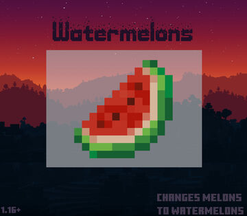 Watermelons Minecraft Texture Pack
