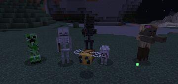 3D Mobs - BEDROCK Minecraft Texture Pack
