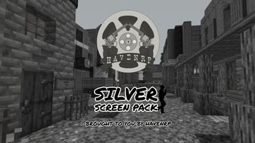 HavenRP Silver Screen Pack | Wild West Black and White Film Pack Minecraft Texture Pack